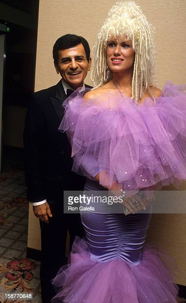 Radio Personality Casey Kasem and wife Jean Kasem attend St Jude Children's Hospital Benefit Gala on September 5 1987 at the Century Plaza Hotel in...