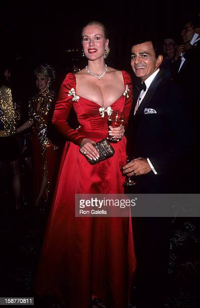 Radio Personality Casey Kasem and wife Jean Kasem attends Ellis Island Medals of Honor Awards Gala on December 9 1990 at the Waldorf Astoria Hotel in...