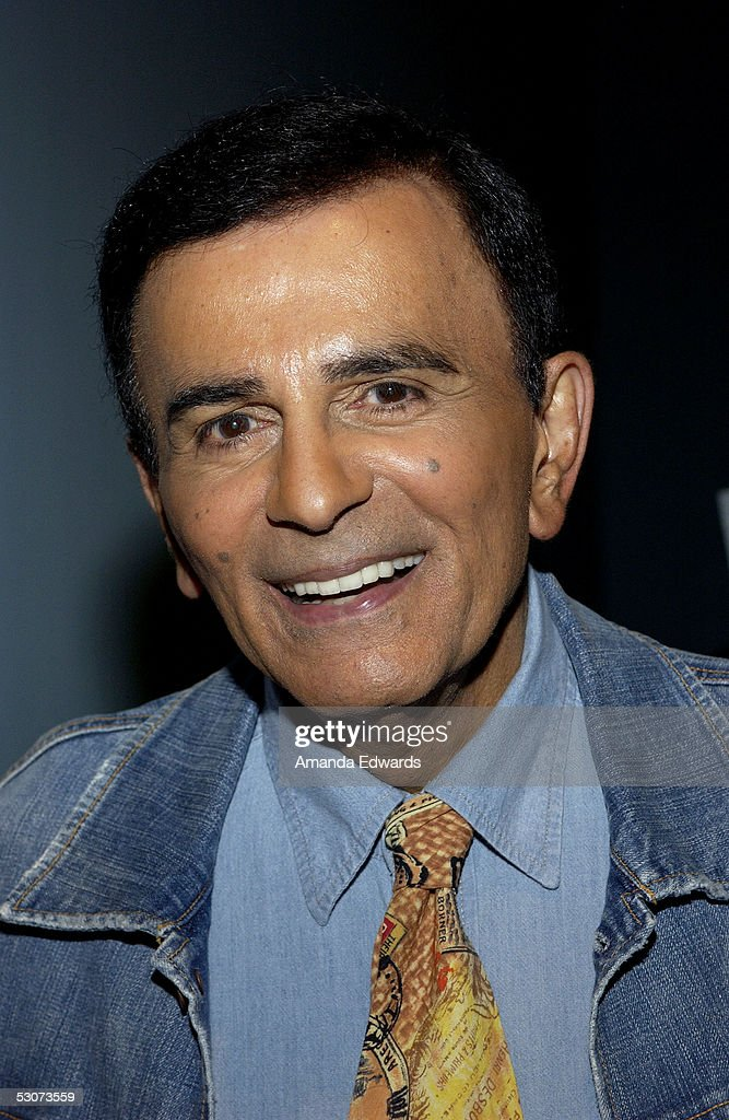 Radio personality <a gi-track='captionPersonalityLinkClicked' href=/galleries/search?phrase=Casey+Kasem&family=editorial&specificpeople=1545344 ng-click='$event.stopPropagation()'>Casey Kasem</a> arrives at the Golden Dads Awards ceremony at the Peterson Automotive Museum on June 15, 2005 in Los Angeles, California.