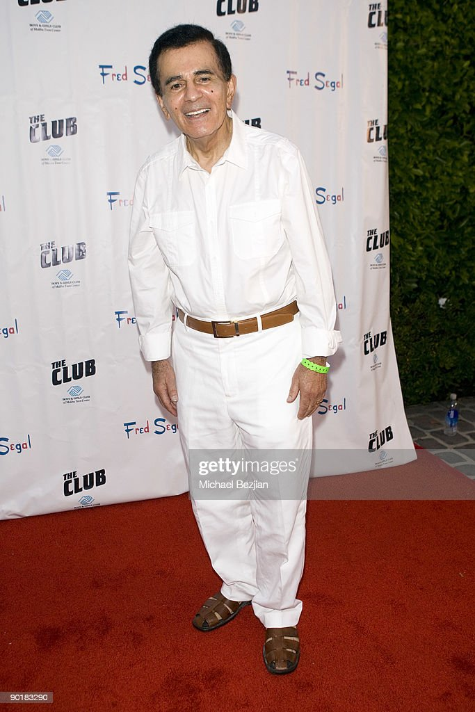 Radio personality Casey Kasem attends Fred Segal's birthday charity event and auction at a Private Residence on August 29, 2009 in Malibu, California.