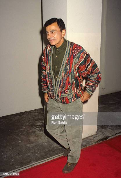 Radio Personality Casey Kasem attends the premiere of 'Bob Roberts' on September 1 1992 at the Writer's Guild Theater in Beverly Hills California