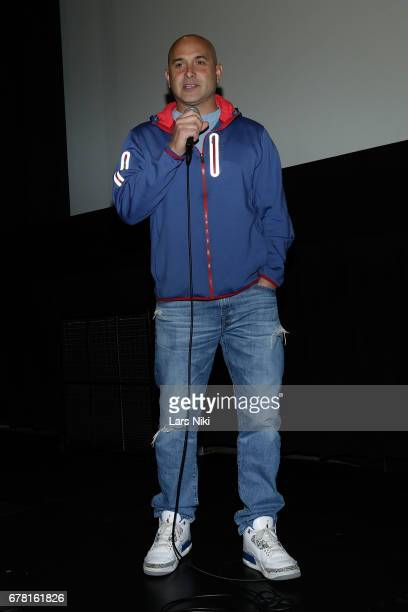 Radio Personality Craig Carton on stage during the MR CHIBBS Opening Night screening and QA at the IFC Center on May 3 2017 in New York City