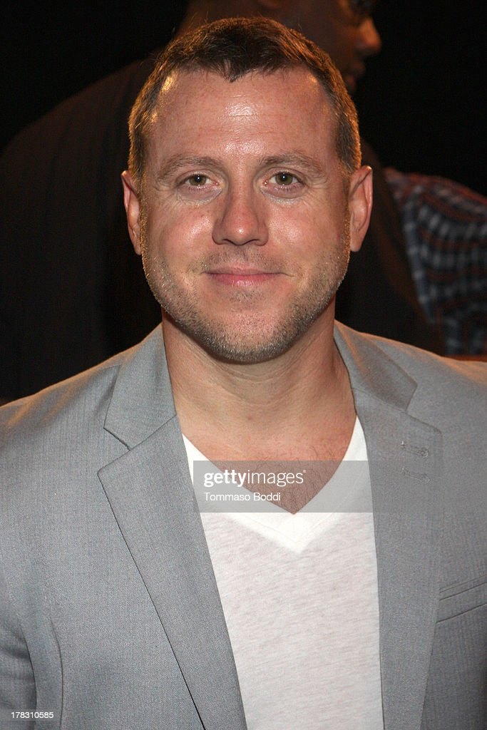 Radio personality Drew Pokorny attends the live casting auditions for new reality show 'Too Fat For Fame' held at The Complex Hollywood on August 28, 2013 in Los Angeles, California.