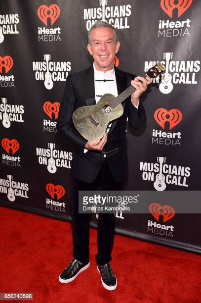 Radio Personality Elvis Duran attends A Night To Celebrate Elvis Duran presented by Musicians On Call at The Edison Ballroom on March 21 2017 in New...