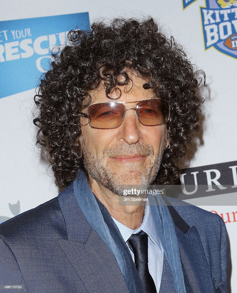 Radio personality Howard Stern attends the 2015 North Shore Animal League America Gala at The Pierre Hotel on November 20 2015 in New York City