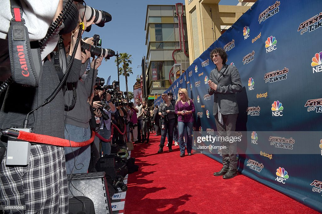 Radio personality Howard Stern attends the 'America's Got Talent' Season 10 Red Carpet Event at Dolby Theatre on April 8 2015 in Hollywood California