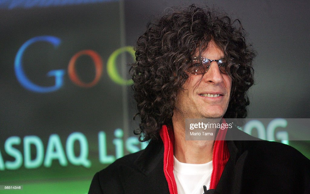 Radio personality Howard Stern presides over the NASDAQ opening bell January 3 2006 in New York City Stern will begin his new show on the Sirius...