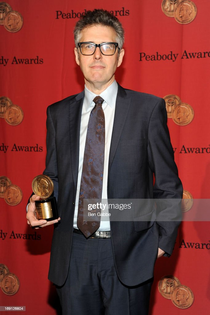 Radio personality <a gi-track='captionPersonalityLinkClicked' href=/galleries/search?phrase=Ira+Glass&family=editorial&specificpeople=3061815 ng-click='$event.stopPropagation()'>Ira Glass</a> attends 72nd Annual George Foster Peabody Awards at The Waldorf=Astoria on May 20, 2013 in New York City.