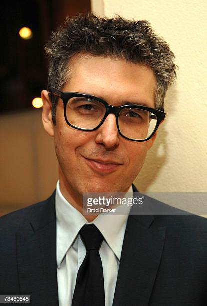 Radio personality Ira Glass attends the WNYC Radio Circle presents This American Life at Avery Fisher Hall at Lincoln Center February 26 2007 in New...