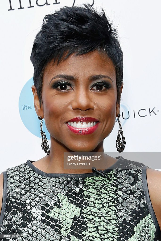 TV/ radio personality Jacque Reid attends as BET Networks partners with OraQuick for 'Life As We Know It', a special panel series about relationships and an advance screening of the program 'Being Mary Jane' at The Crosby Hotel on January 7, 2014 in New York City.