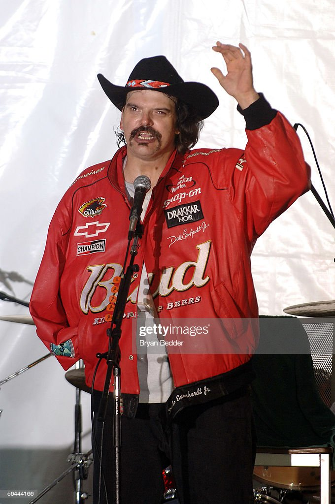 Radio Personality Jeff 'The Drunk' Curro appears onstage during his last WXRK 'Howard Stern Show' December 16, 2005 in New York City.
