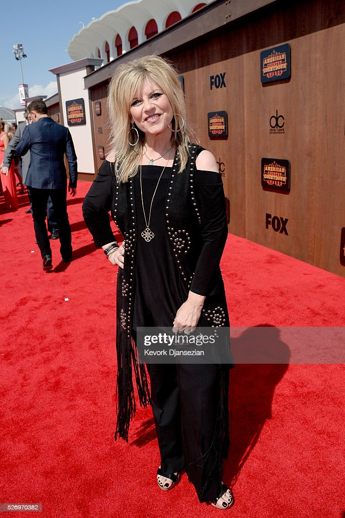 Radio personality Lisa Manning attends the 2016 American Country Countdown Awards at The Forum on May 1, 2016 in Inglewood, California.