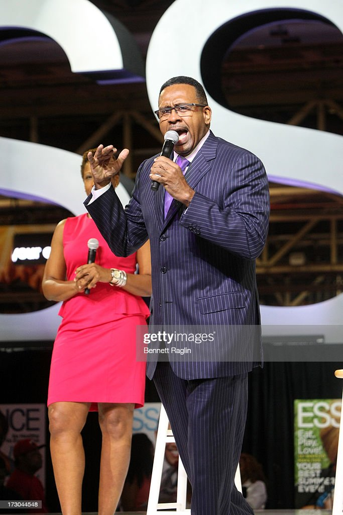 Radio Personality Michael Baisden attends the 2013 Essence Festival at the Ernest N. Morial Convention Center on July 5, 2013 in New Orleans, Louisiana.