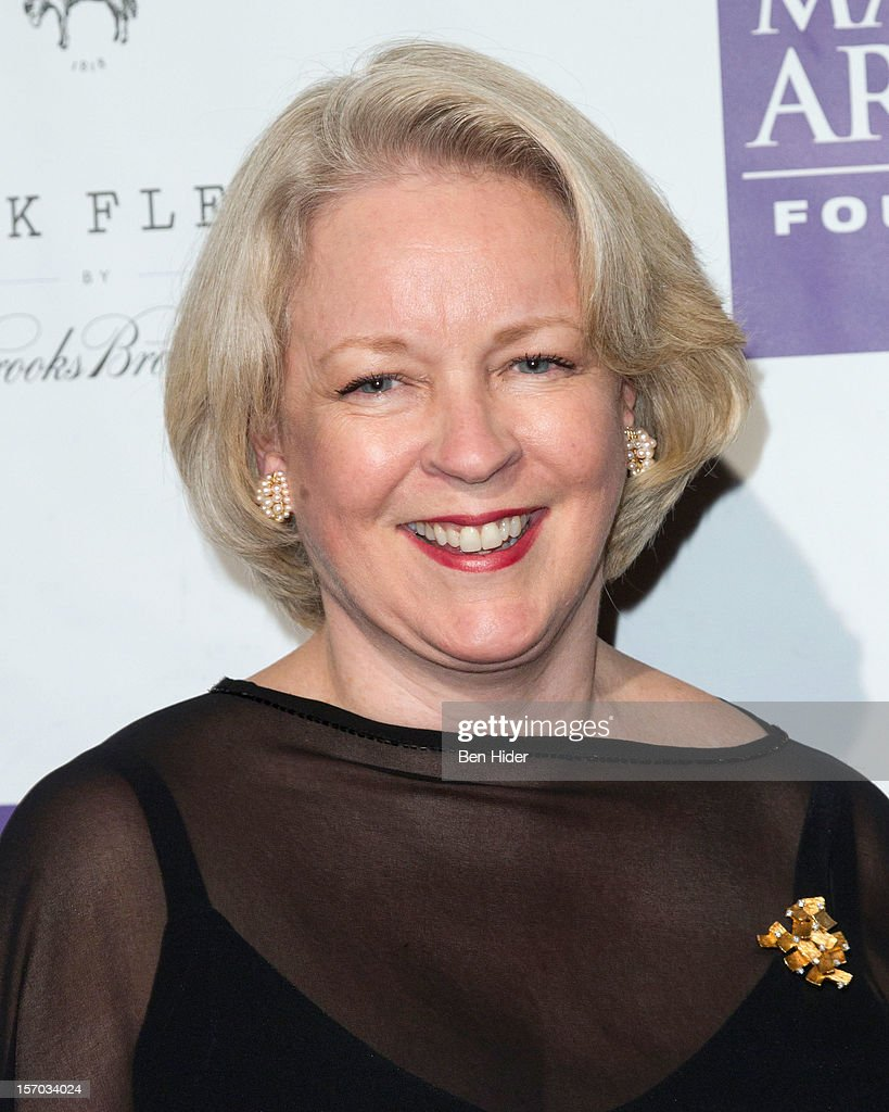 Radio personality Midge Woolsey attends Martina Arroyo Annual Foundation Gala at 583 Park Avenue on November 27, 2012 in New York City.