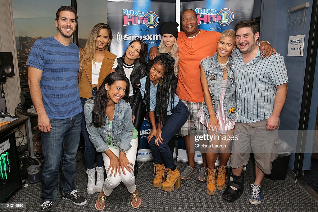 SiriusXM Hits 1's The Morning Mash Up Broadcast From The SiriusXM Studios In Los Angeles - Day 2