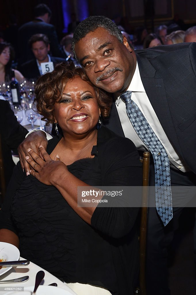 Radio personality <a gi-track='captionPersonalityLinkClicked' href=/galleries/search?phrase=Robin+Quivers&family=editorial&specificpeople=665053 ng-click='$event.stopPropagation()'>Robin Quivers</a> (L) and former professional baseball player <a gi-track='captionPersonalityLinkClicked' href=/galleries/search?phrase=Eddie+Murray&family=editorial&specificpeople=210573 ng-click='$event.stopPropagation()'>Eddie Murray</a> attend the T.J. Martell Foundation's 11th annual New York World Tour of Wine on November 20, 2014 in New York City.