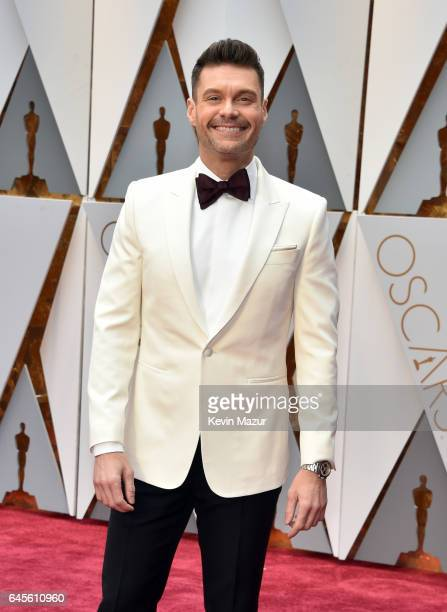 Radio Personality Ryan Seacrest attends the 89th Annual Academy Awards at Hollywood Highland Center on February 26 2017 in Hollywood California
