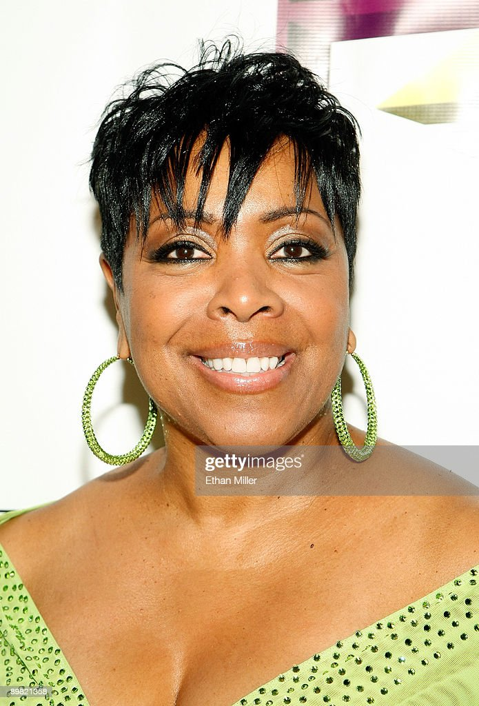 Radio personality Shirley Strawberry arrives at the seventh annual Hoodie Awards at the Mandalay Bay Events Center August 15, 2009 in Las Vegas, Nevada.