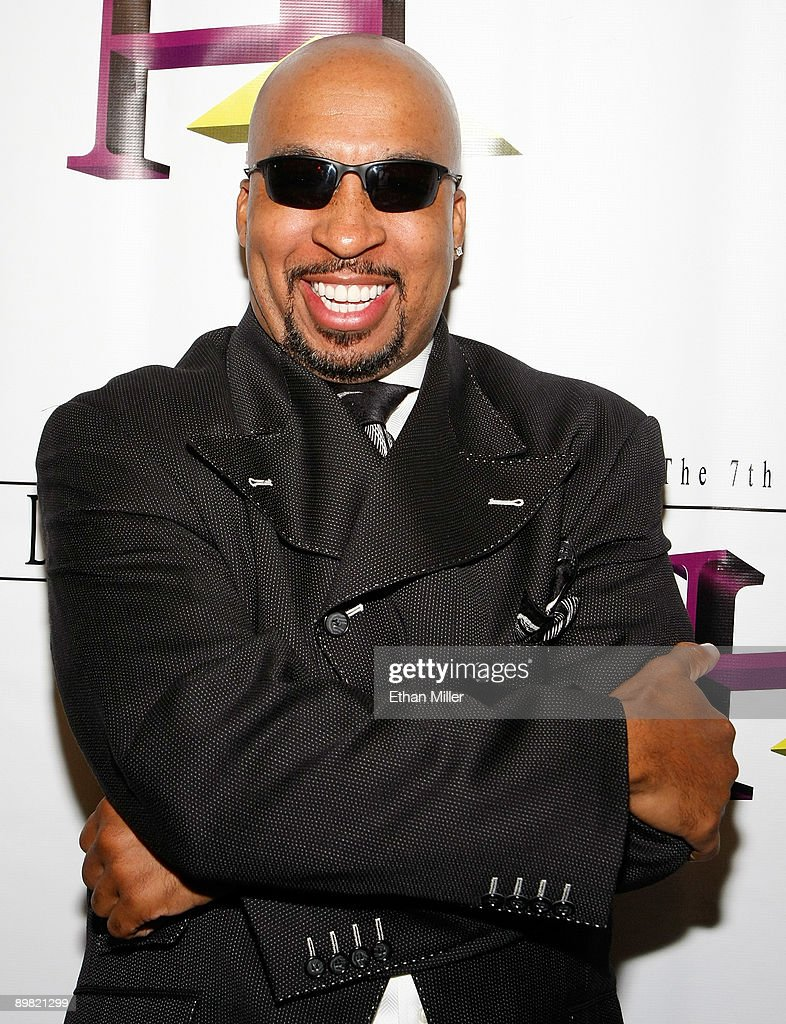 Radio personality Thomas 'Nephew Tommy' Miles arrives at the seventh annual Hoodie Awards at the Mandalay Bay Events Center August 15, 2009 in Las Vegas, Nevada.