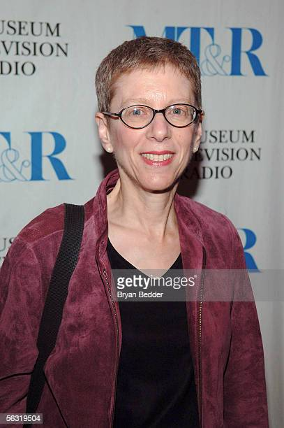 Radio Producer Terry Gross arrives at the launch party for 'She Made It Women Creating Television and Radio' December 1 2005 in New York City