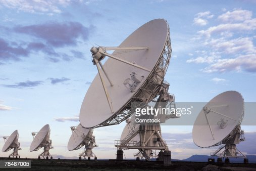 Radio satellites in Very Large Array