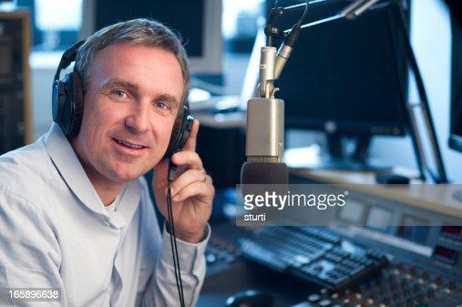 radio station presenter