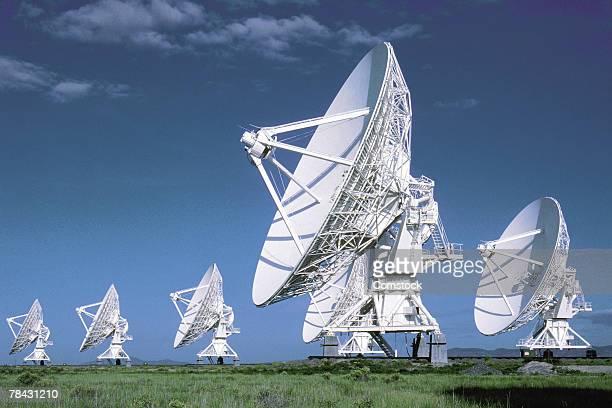 Radio telescope antennae