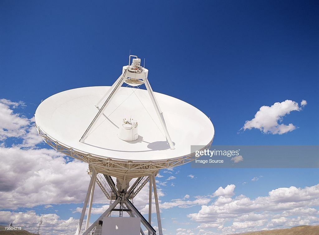 VLBA radio telescope brewster washington : Stock Photo
