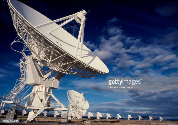 Radio Telescopes in Socorro, New Mexico