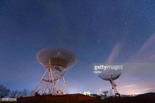 Radiosände teleskop Observera Vintergatan