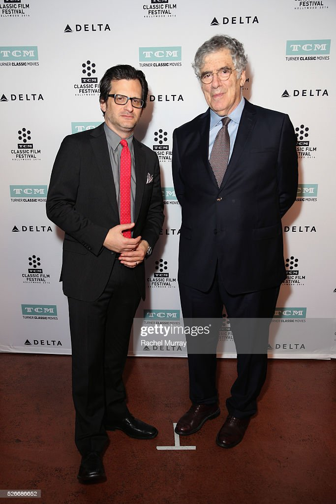 Radio & TV personality <a gi-track='captionPersonalityLinkClicked' href=/galleries/search?phrase=Ben+Mankiewicz&family=editorial&specificpeople=678440 ng-click='$event.stopPropagation()'>Ben Mankiewicz</a> (L) and actor <a gi-track='captionPersonalityLinkClicked' href=/galleries/search?phrase=Elliott+Gould&family=editorial&specificpeople=213079 ng-click='$event.stopPropagation()'>Elliott Gould</a> attend 'The Long Goodbye' screening during day 3 of the TCM Classic Film Festival 2016 on April 30, 2016 in Los Angeles, California. 25826_007