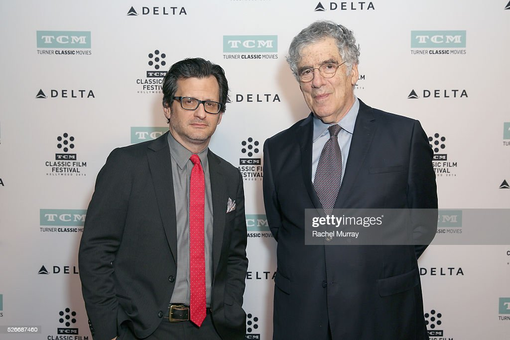 Radio & TV personality Ben Mankiewicz (L) and actor Elliott Gould attend 'The Long Goodbye' screening during day 3 of the TCM Classic Film Festival 2016 on April 30, 2016 in Los Angeles, California. 25826_007