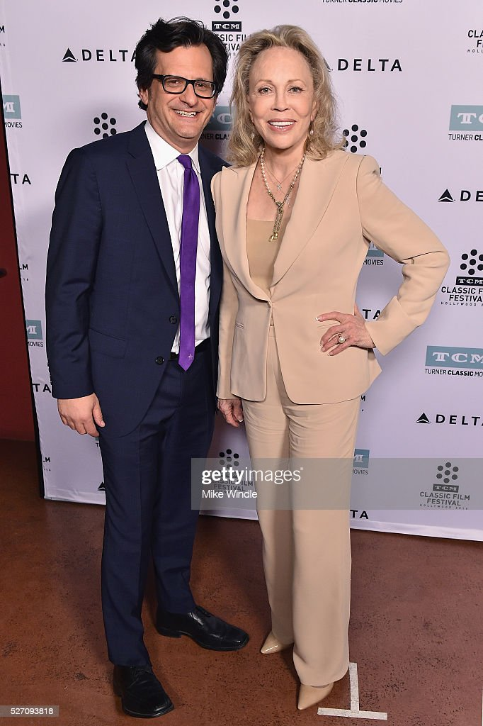 Radio & TV personality <a gi-track='captionPersonalityLinkClicked' href=/galleries/search?phrase=Ben+Mankiewicz&family=editorial&specificpeople=678440 ng-click='$event.stopPropagation()'>Ben Mankiewicz</a> (L) and actress <a gi-track='captionPersonalityLinkClicked' href=/galleries/search?phrase=Faye+Dunaway&family=editorial&specificpeople=204694 ng-click='$event.stopPropagation()'>Faye Dunaway</a> attend 'Network' screening during day 4 of the TCM Classic Film Festival 2016 on May 1, 2016 in Los Angeles, California. 25826_008