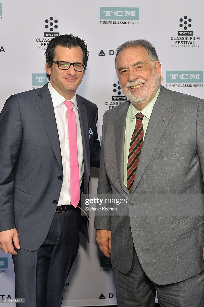Radio & TV personality <a gi-track='captionPersonalityLinkClicked' href=/galleries/search?phrase=Ben+Mankiewicz&family=editorial&specificpeople=678440 ng-click='$event.stopPropagation()'>Ben Mankiewicz</a> (L) and director <a gi-track='captionPersonalityLinkClicked' href=/galleries/search?phrase=Francis+Ford+Coppola&family=editorial&specificpeople=204241 ng-click='$event.stopPropagation()'>Francis Ford Coppola</a> attend 'The Conversation' screening during day 2 of the TCM Classic Film Festival 2016 on April 29, 2016 in Los Angeles, California. 25826_005
