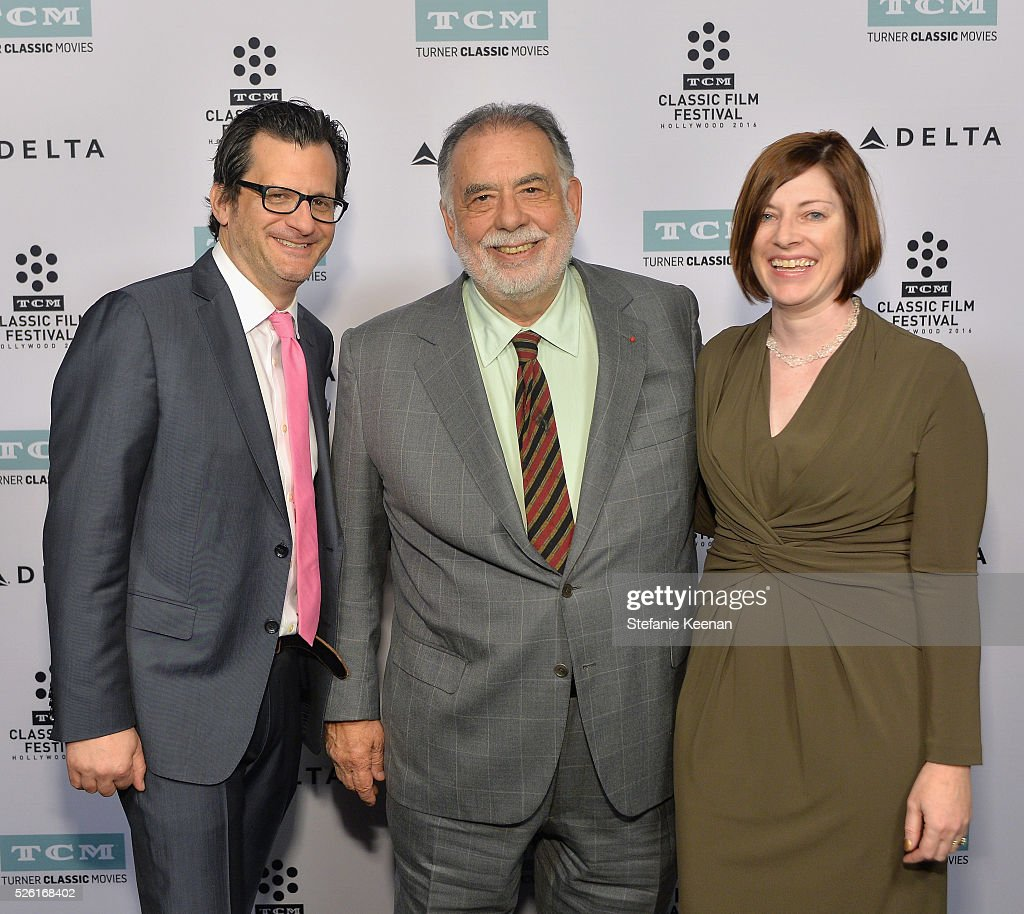 Radio & TV personality <a gi-track='captionPersonalityLinkClicked' href=/galleries/search?phrase=Ben+Mankiewicz&family=editorial&specificpeople=678440 ng-click='$event.stopPropagation()'>Ben Mankiewicz</a>, director <a gi-track='captionPersonalityLinkClicked' href=/galleries/search?phrase=Francis+Ford+Coppola&family=editorial&specificpeople=204241 ng-click='$event.stopPropagation()'>Francis Ford Coppola</a> and Managing Director of TCM Classic Film Festival Genevieve McGillicuddy attend 'The Conversation' screening during day 2 of the TCM Classic Film Festival 2016 on April 29, 2016 in Los Angeles, California. 25826_005