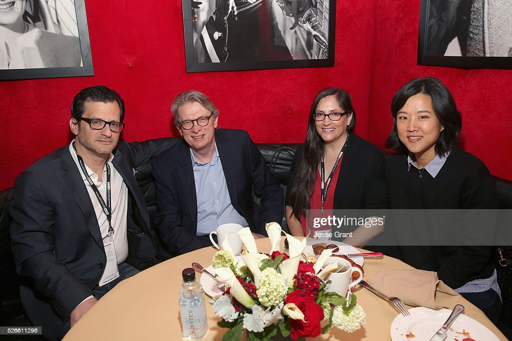 Radio & TV personality <a gi-track='captionPersonalityLinkClicked' href=/galleries/search?phrase=Ben+Mankiewicz&family=editorial&specificpeople=678440 ng-click='$event.stopPropagation()'>Ben Mankiewicz</a>, Director of the Academy Museum of Motion Pictures Kerry Brougher and passholders attend the Delta Passholder Breakfast during day 3 of the TCM Classic Film Festival 2016 on April 30, 2016 in Los Angeles, California. 25826_009