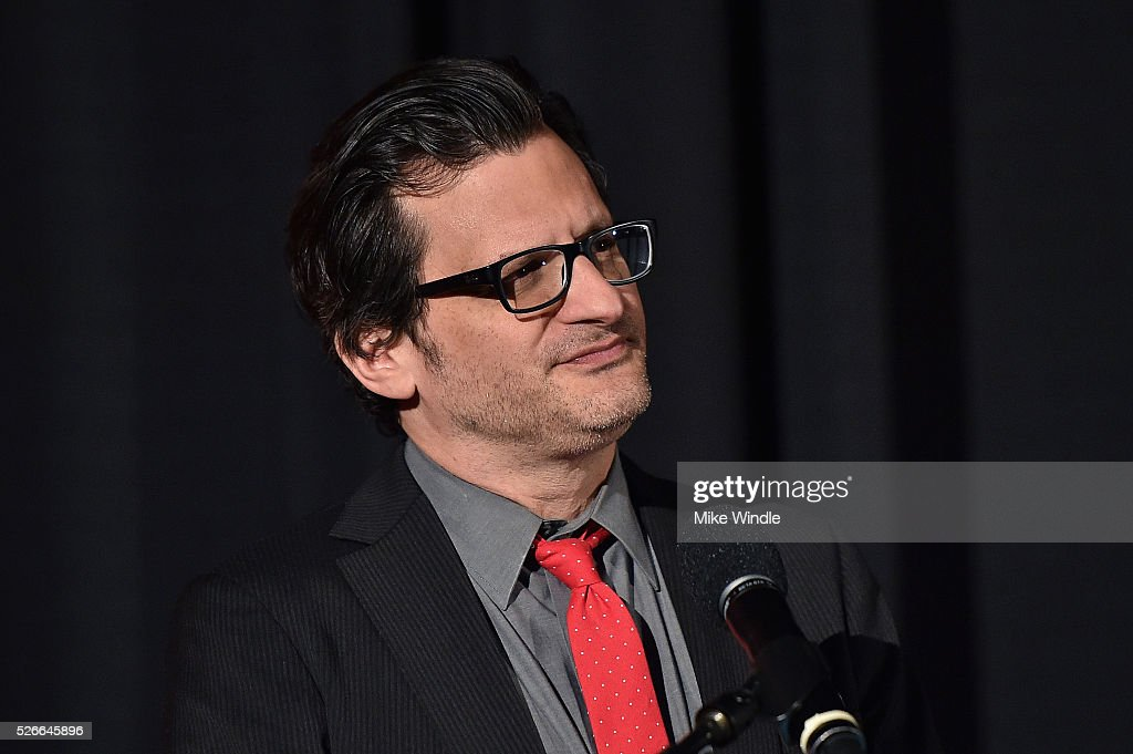 Radio & TV personality Ben Mankiewicz speaks onstage at 'Buona Sera, Mrs. Campbell' screening during day 3 of the TCM Classic Film Festival 2016 on April 30, 2016 in Los Angeles, California. 25826_008