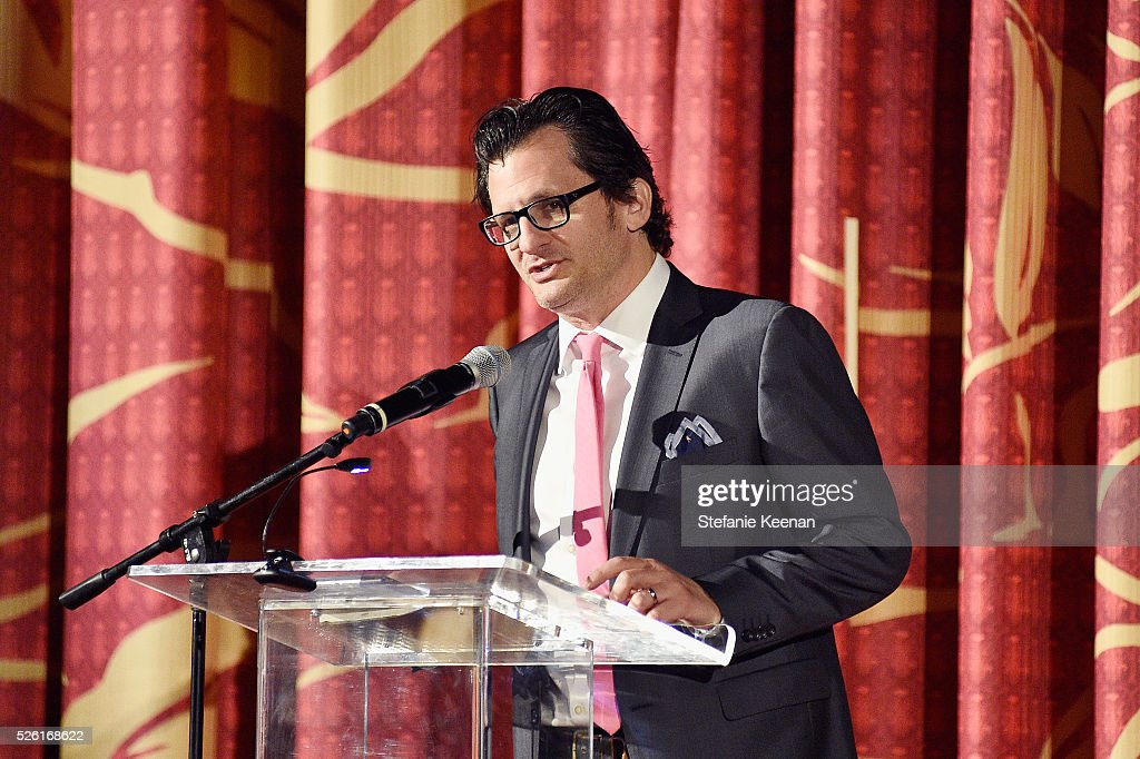 Radio & TV personality <a gi-track='captionPersonalityLinkClicked' href=/galleries/search?phrase=Ben+Mankiewicz&family=editorial&specificpeople=678440 ng-click='$event.stopPropagation()'>Ben Mankiewicz</a> speaks onstage during 'The Conversation' screening during day 2 of the TCM Classic Film Festival 2016 on April 29, 2016 in Los Angeles, California. 25826_005