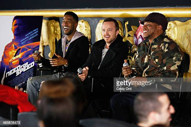 Radio/ TV personality Sway Calloway hosts a Q A with actors Scott Mescudi and Aaron Paul following a fan screening of their highly anticipated movie...