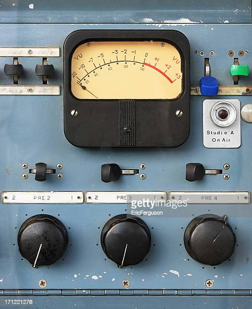 Medidor VU de Rádio