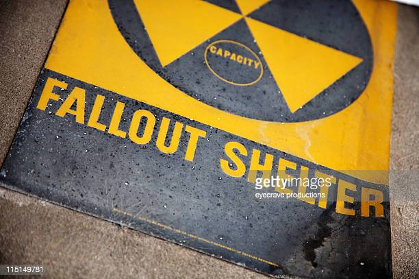 radioactive area fallout shelter