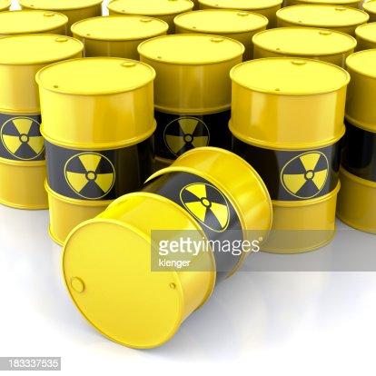 Radioaktivität Barrel