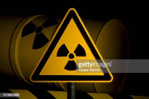 A Radioactive Warning Sign
