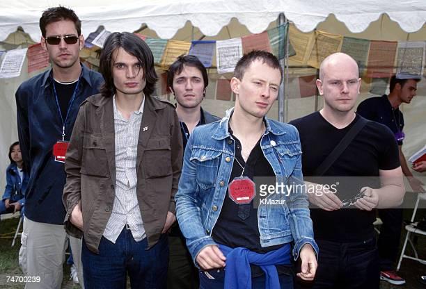 Radiohead at the Loew's Astor Plaza in New York City New York