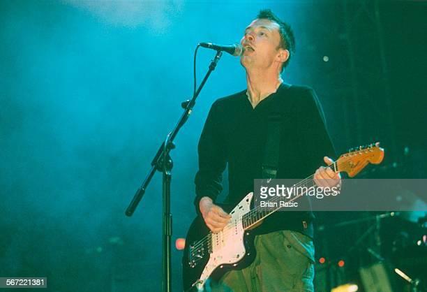 Radiohead Performing At The Brixton Academy London Britain 1997 Thom Yorke Radiohead