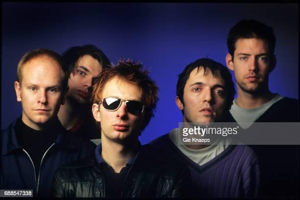 Radiohead Phil Selway Jonny Greenwood Thom Yorke Colin Greenwood Ed O'Brien Luna theater Brussels Belgium