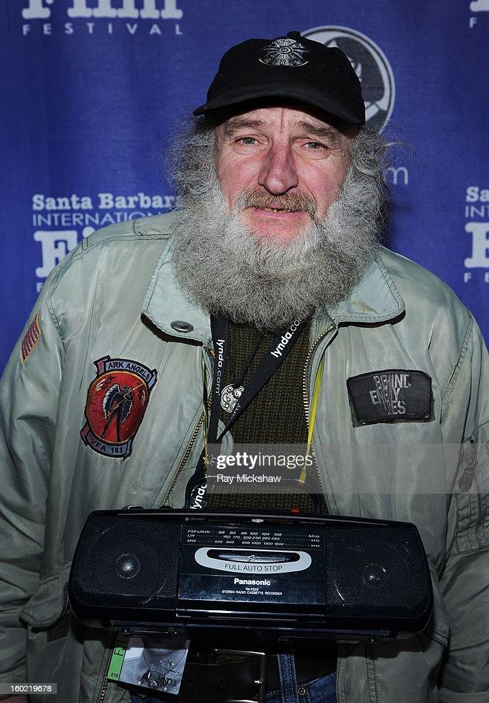 Radioman attends the screening of 'Radioman' at the 28th Santa Barbara International Film Festival on January 27, 2013 in Santa Barbara, California.