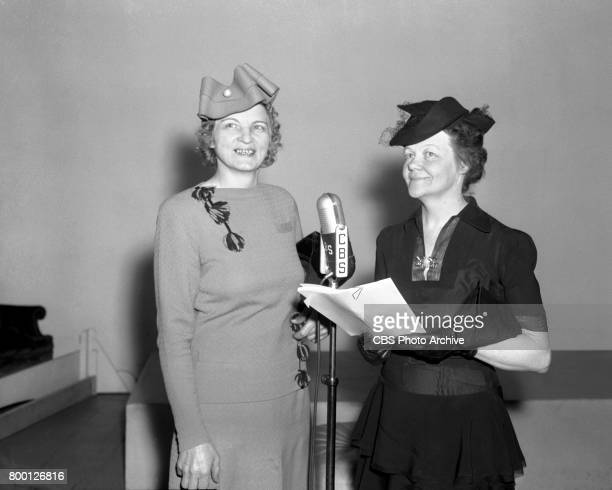 Radios The Court of Missing Heirs a true stories program Presenting the reward Mrs Christie Hoffman and the heiress Mrs Helen B Altman New York NY...