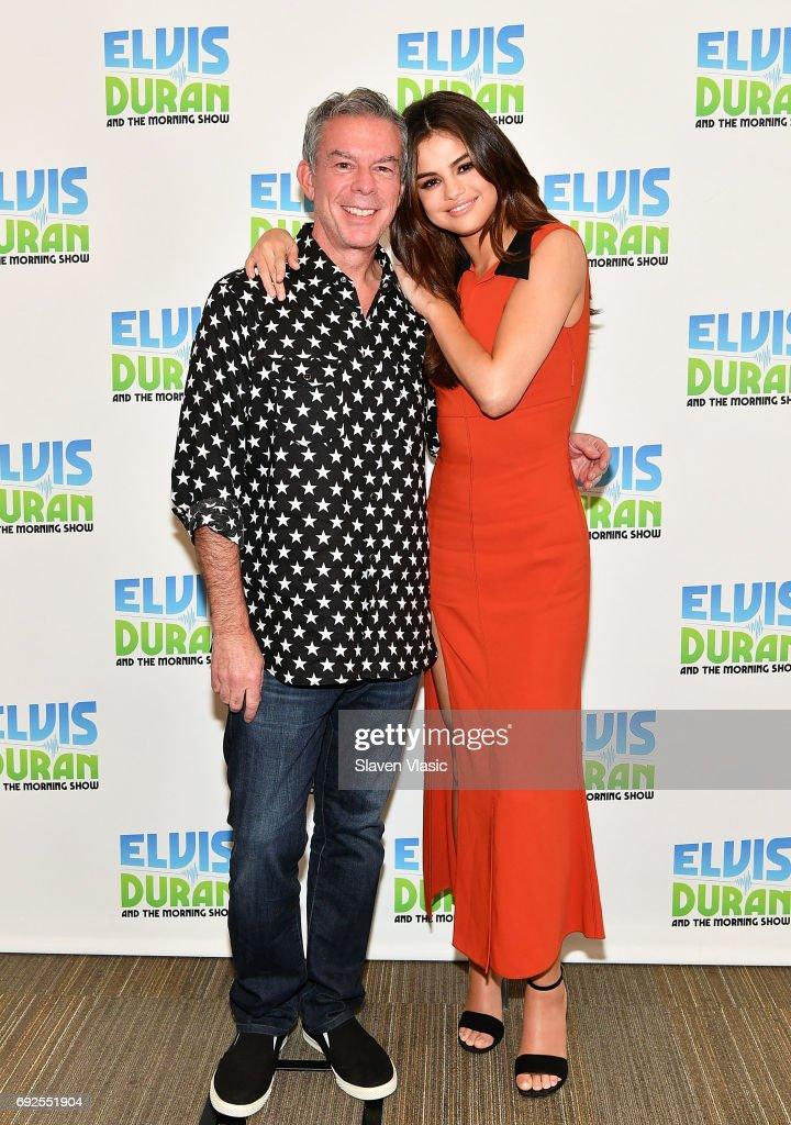 "Selena Gomez Visits The ""Elvis Duran Z100 Morning Show"""