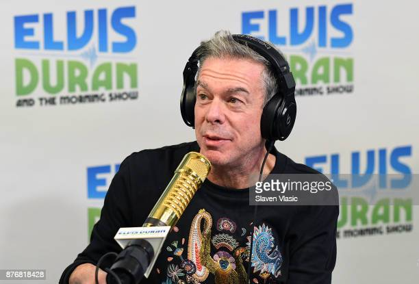 Radio/TV personality Elvis Duran hosts 'The Elvis Duran Z100 Morning Show' at Z100 Studio on November 20 2017 in New York City
